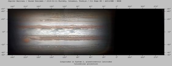 Jüpiter Haritası - 2014-01-11 - 9 Set - RRGB
