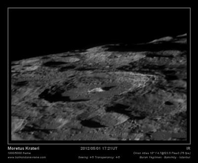 Moretus Crater