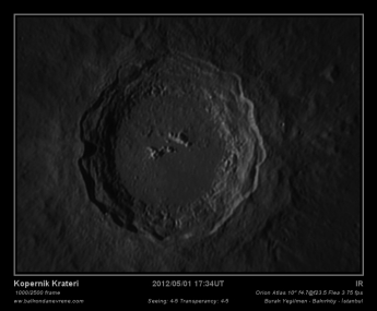 Kopernik Crater