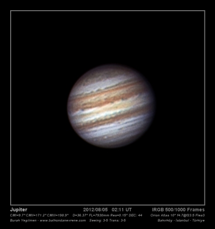 Jupiter Flea3