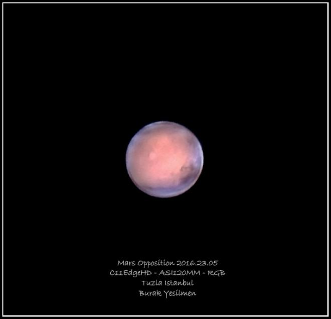 Mars Opposition 2016 Soft